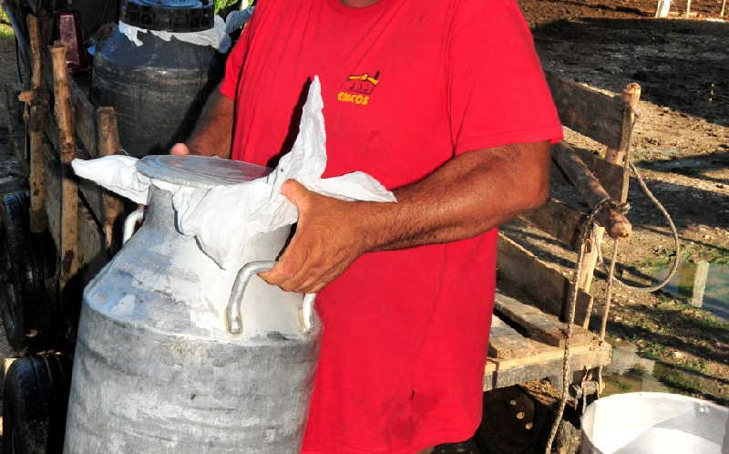 sancti spiritus, acopio de leche, miguel dias-canel bermudez, presidente de cuba, combustible, energia electrica, alimento, leche