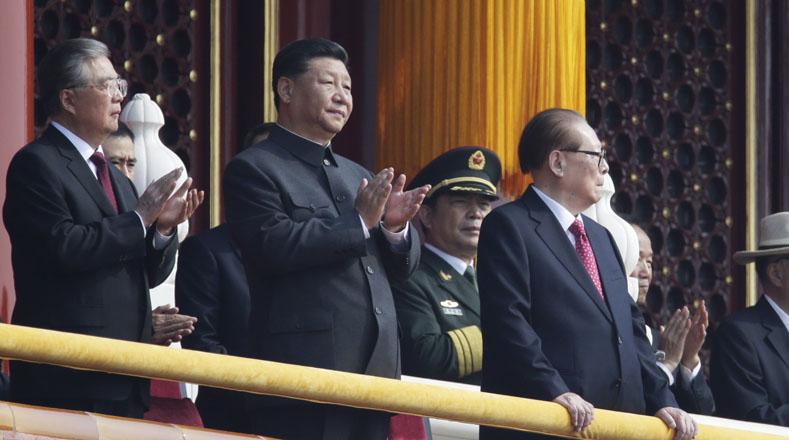 El presidente Xi Jinping lideró los actos conmemorativos por los 70 años la República Popular China. (Foto: Reuters)