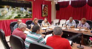 cuba, miguel diaz-canel, presidente de cuba, combustibles, energia electrica, mesa redonda, consejo de la administracion provincial, sancti spiritus