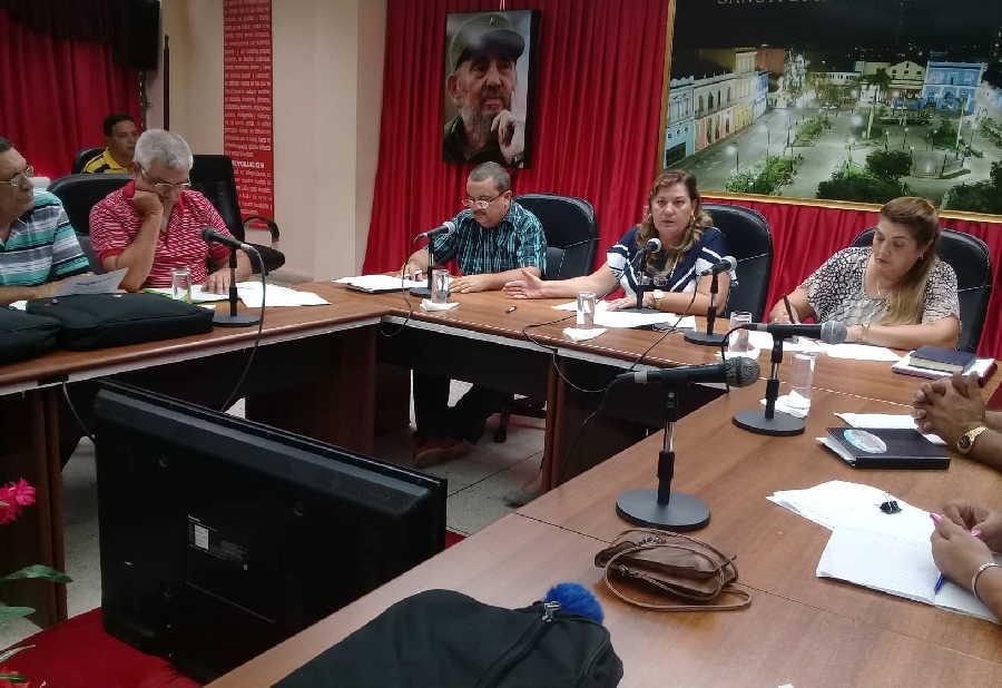 sancti spiritus, consejo de la administracion provincial, cap, combustible, energia electrica, miguel diaz-canel, presidente de cuba