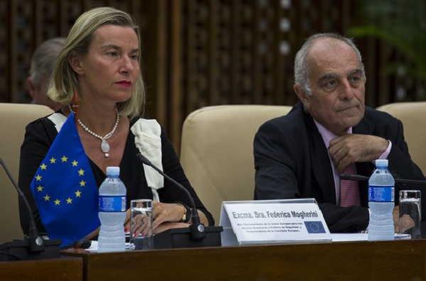 cuba, union europea, ministerio de relaciones exteriores, cuba-union europea, bruno rodriguez, federica mogherini