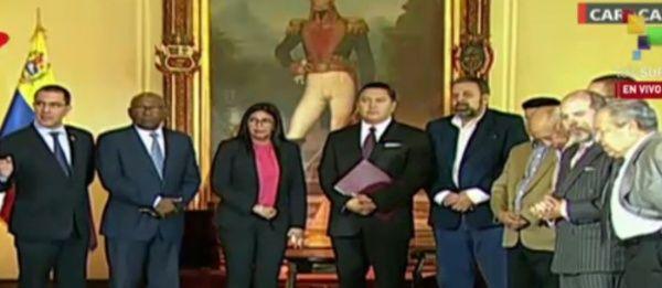 El acuerdo se efectúa sobre la base del respeto a los principios establecidos en la Carta de las Naciones Unidas. (Foto: VTV)