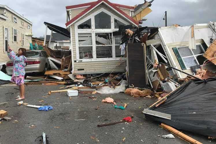 estados unidos, dorian, meteorologia, huracanes, desastres naturales