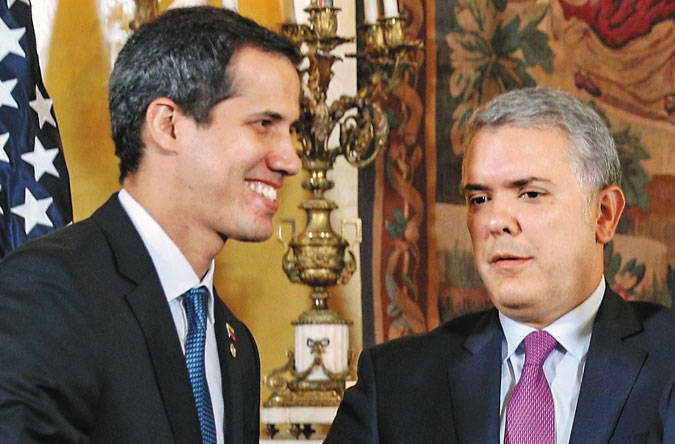 venezuela, ivan duque, colombia, oposicion venezolana, venezuela-estados unidos