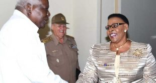 cuba, esteban lazo, parlamento cubano, zimbabwe