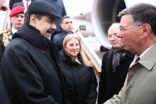 Maduro se encuentra en Rusia donde sostendrá un encuentro con su homólogo Vladímir Putin. (Foto: Twitter: @nicolasmaduro)