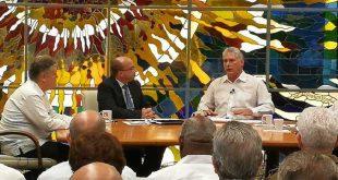 presidente cubano miguel díaz-canel