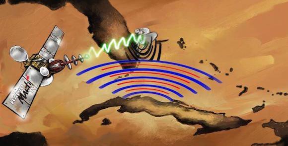 Mediante transmisiones  radiales y televisivas ilegales se agrede desde EE.UU. el espacio radioeléctrico cubano.