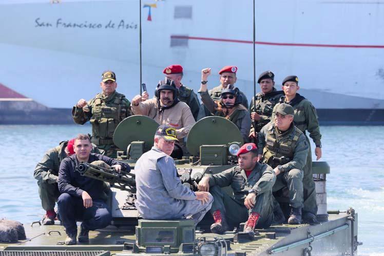 venezuela, venezuela-colombia, nicolas maduro, fuerza armada nacional bolivariana