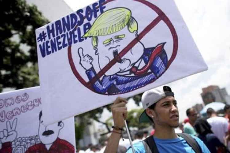 Washington impulsa diversos pasos para sacar del poder al presidente Nicolás Maduro. (Foto: PL)