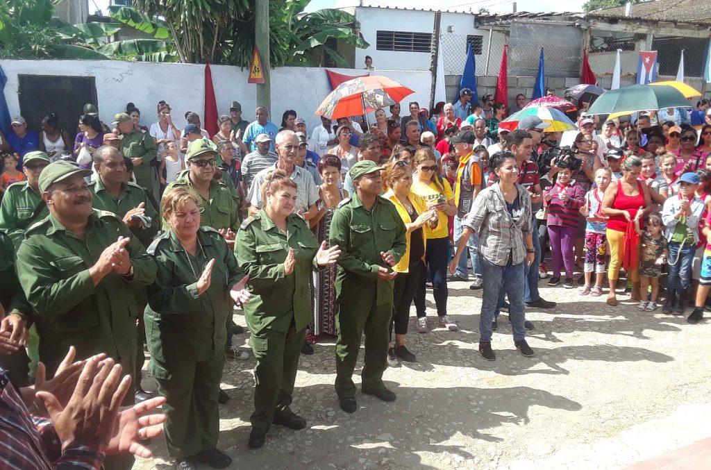 La población de Guasimal patentizó su firmeza en defensa de la Revolución.
