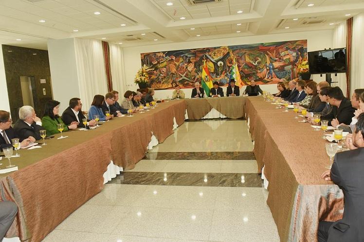 El gobierno nacional es el más interesado en que la votación concluya con toda la claridad posible, aseguró Diego Pary. (Foto: PL)