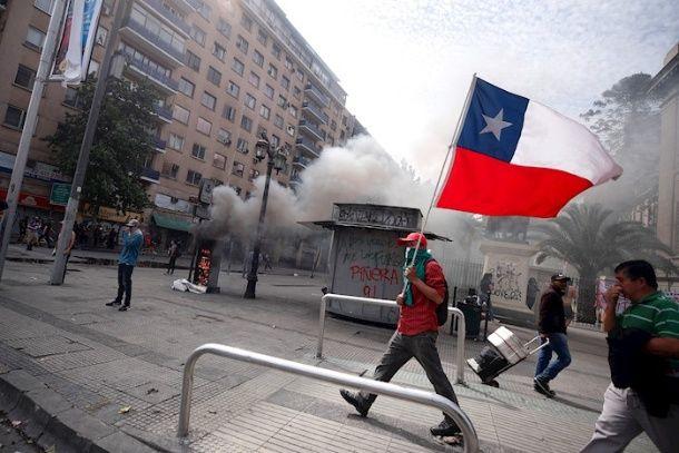 Las políticas económicas del  presidente Sebastián Piñera provocaron el  estallido social desatado en Chile. (Foto: TeleSUR)