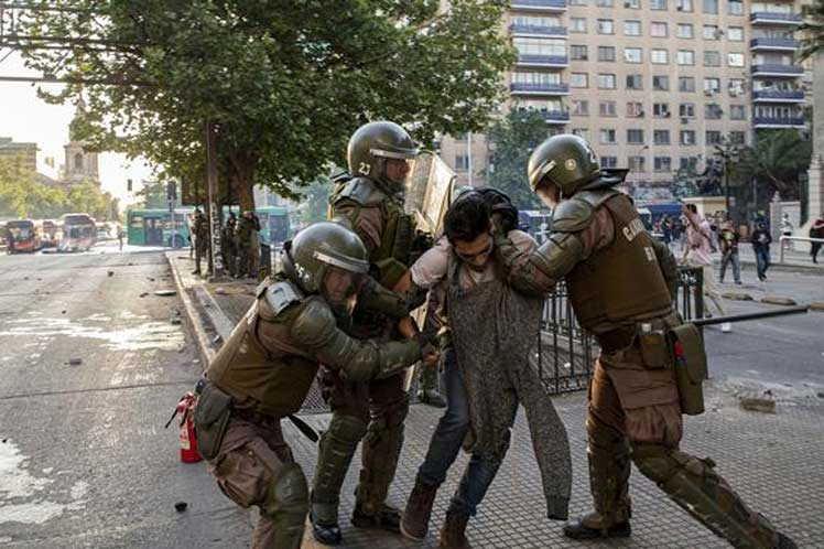 chile, protestas, manifestaciones