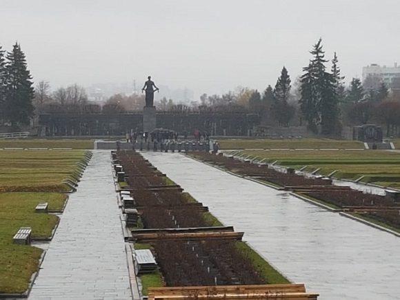 Cementerio Piskaiesbskoye. (Foto: Cubadebate)