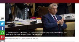 Cuba, Parlamento, elección, repercusión, Díaz-Canel