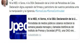 Upec, Díaz-Canel, periodistas, medios públicos