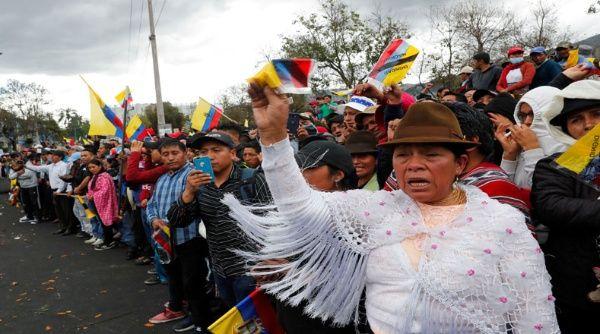 La decisión de la Conaie abre el  acercamiento del movimiento que encabeza las protestas  con el gobierno. (Foto: TeleSUR)