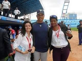 Elsa Ramos y Darilys Reyes compartían la pasión por los temas deportivos.
