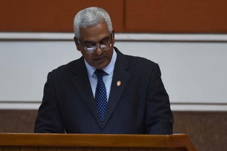 Oscar Silvera dijo que se trata de uno de los retos de mayor trascendencia para el ordenamiento institucional y jurídico. (Foto: PL)