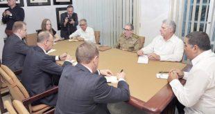 Cuba, Rusia, Díaz-Canel, Raúl Castro