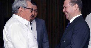 Cuba, Rusia, Raúl Castro, Dimitri Medvedev