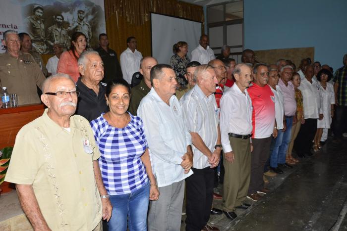 sancti spiritus, asociacion de combatientes de la revolucion cubana, acrc