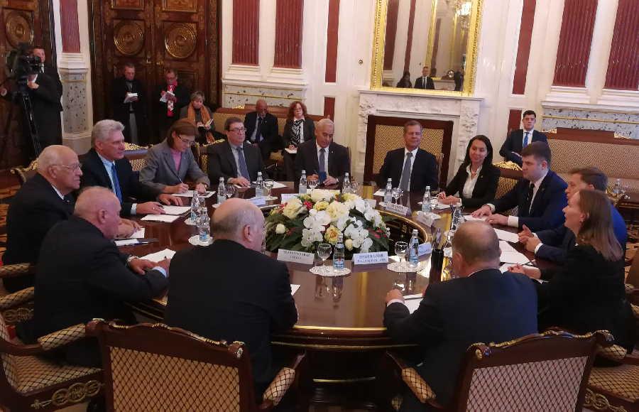 cuba, rusia, moscu, miguel diaz-canel, presidente de la republica de cuba, presidente de cuba en rusia