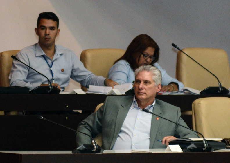 cuba, asamblea nacional del poder popular, parlamento cubano, miguel diaz-canel, combustible, ahorro energetico, situacion energetica
