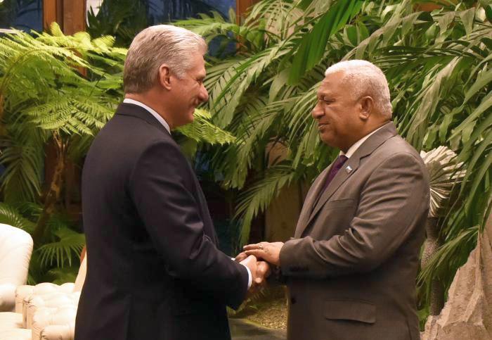 Cuba, Fiji, Díaz-Canel