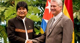 cuba, bolivia, evo morales, miguel diaz-canel, presidente de cuba