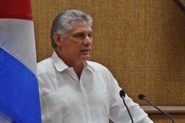 cuba, bloqueo de eeuu a cuba, miguel diaz-canel, presidente de la republica de cuba, donald trump