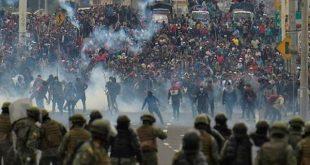 ecuador, manifestaciones, lenin moreno