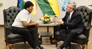 Argentina, Bolivia, Evo Morales, Alberto Fernández