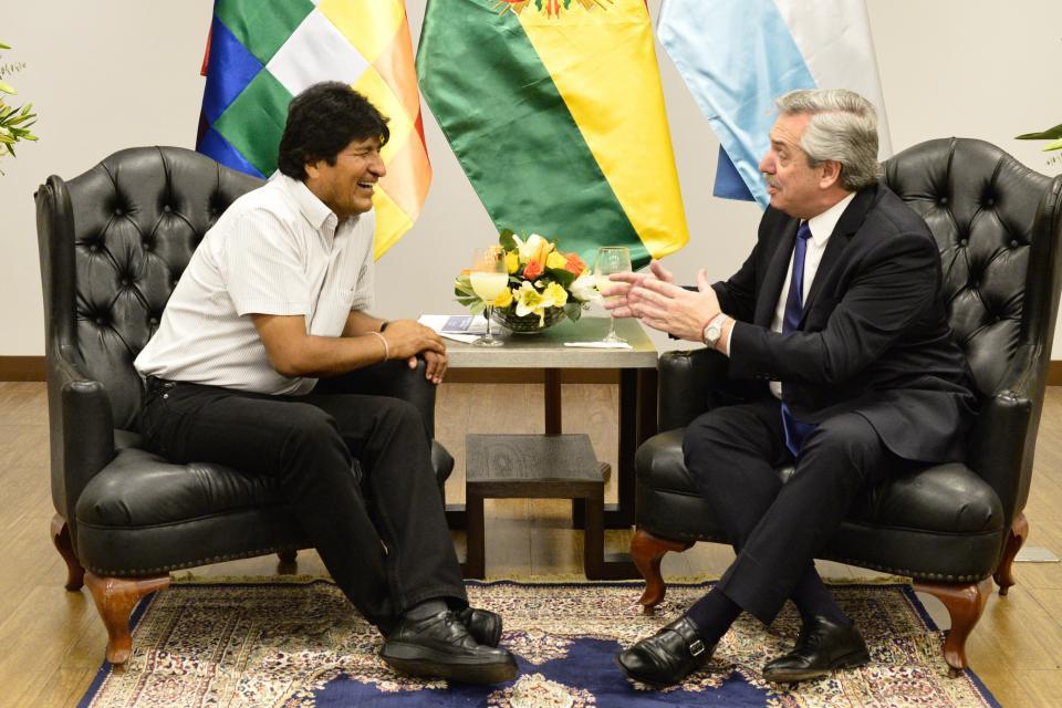 'Tenemos una nueva oportunidad para  fortalecer el trabajo en beneficio de los más pobres', consideró  Morales. (Foto: PL)