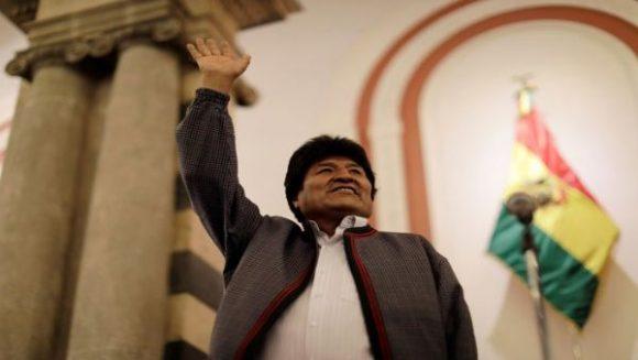 Evo Morales aspira a mantener a la nación como líder del crecimiento  económico de América Latina. Foto: Reuters.