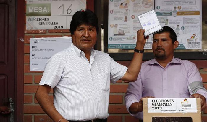 bolivia, evo morales, bolivia elecciones