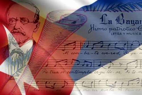 cuba, himno nacional, imbolos nacionales, constitucion de la republica