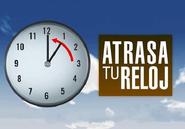 El domingo 3 de niviembre se restablecerá el horario normal en Cuba.