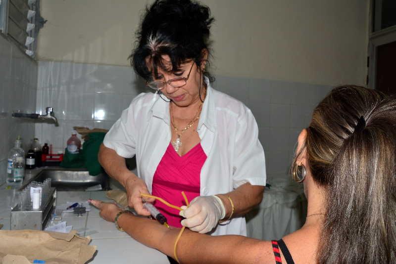 sancti spiritus, laboratorio clinico, salud publica