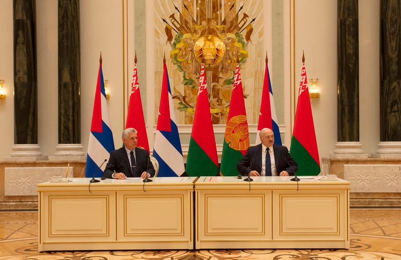 cuba, belarus, miguel diaz-canel, presidente de la republica de cuba, presidente de cuba en belarus