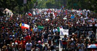 chile, huelga, manifestaciones, protestas, sebastian piñera
