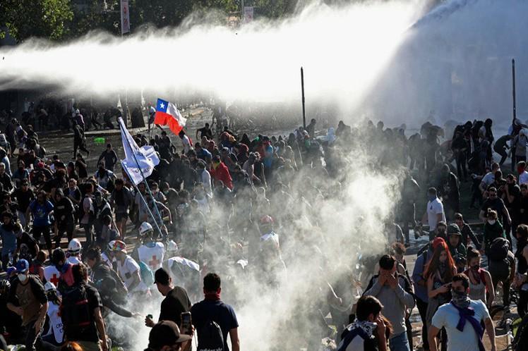 chile, sebastian piñera, manifestaciones, protestas, toque de queda