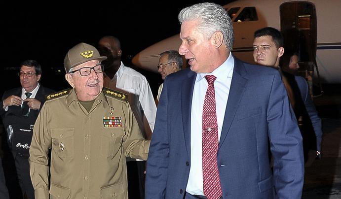 cuba, mexico, andres manuel lopez obrador, mexico, miguel diaz-canel, presidente de la republica de cuba