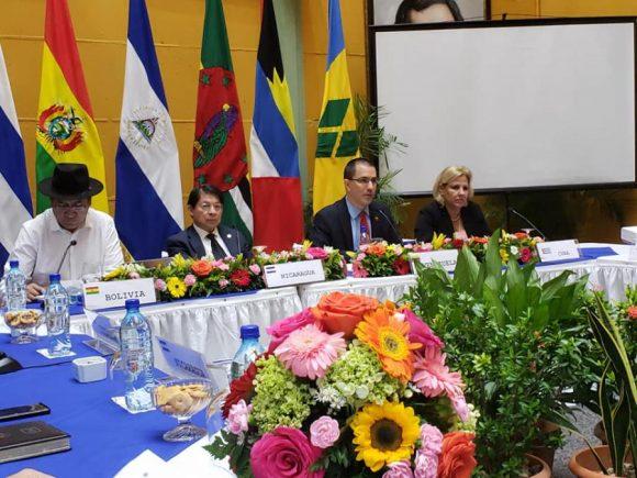 El foro condenó de manera categórica la ruptura del orden constitucional en  Bolivia.