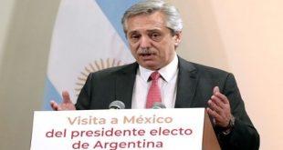 Alberto Fernández, Argentina, México