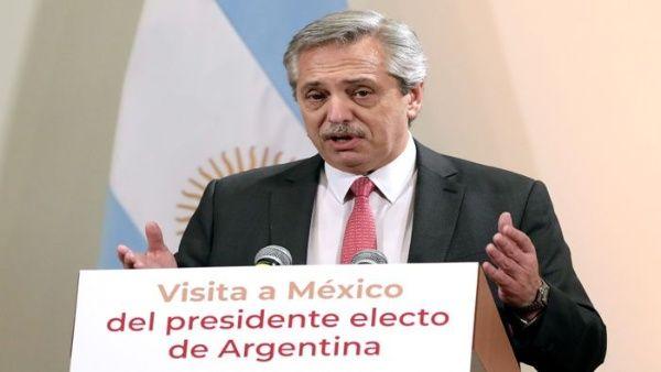 Fernández tuvo emocionadas palabras de elogio para México. (Foto: PL)