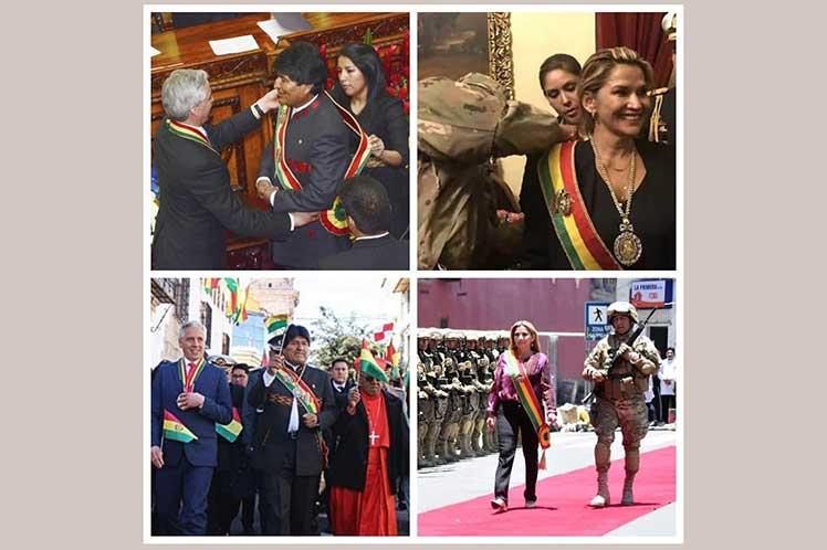 Evo Morales rechazó que el régimen golpista sea gobierno de transición. (Foto: PL)