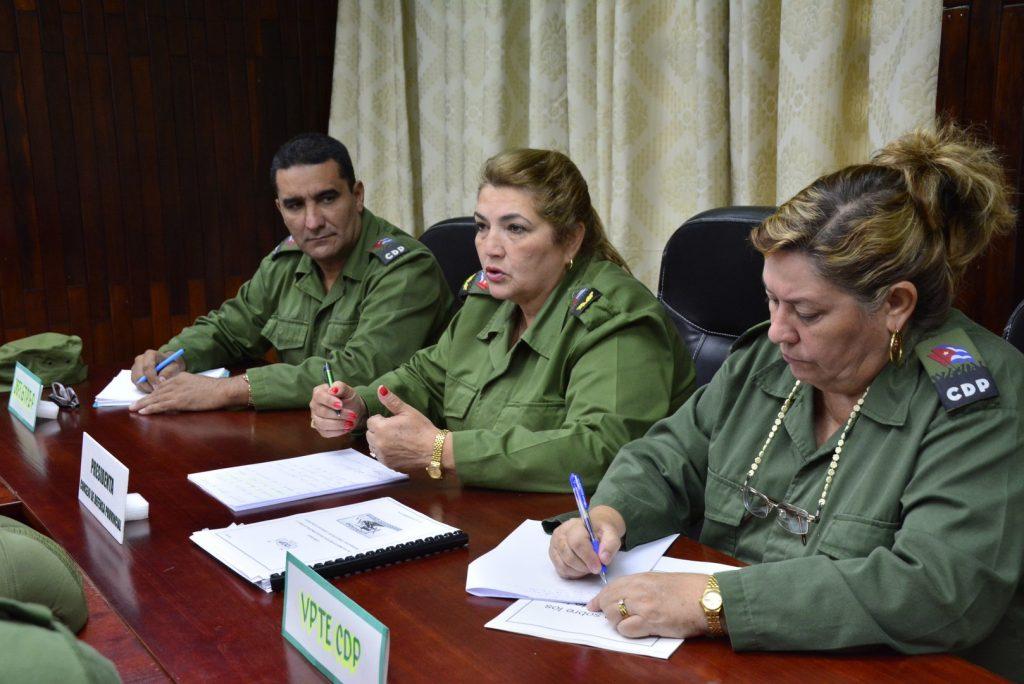 Lás máximas autoridades del Consejo de Defensa Provincial puntualizaron las misiones a cumplir.