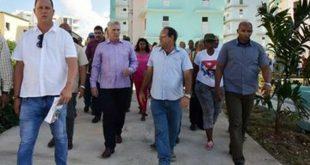 Díaz-Canel, VIVIENDAS, La Habana, tornado